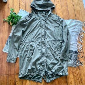 Forever 21 Olive Green Utility Jacket